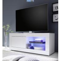 AMBROZJA biała włoska szafka RTV 140/43/56 cm