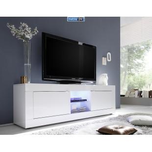 AMBROZJA biała  włoska duża szafka RTV 181/43/56 cm
