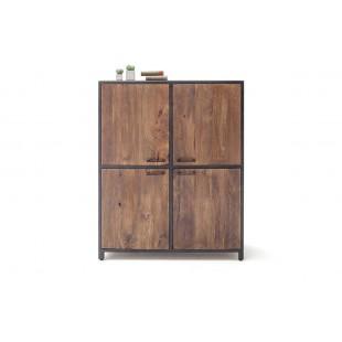 DUBAI  komoda wysoka drewno mango118/40/145  cm
