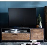 DUBAI  szafka RTV drewno mango 178/40/55  cm