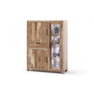 WILL kredens drewno akacjowe lakier natur 110/40/145  cm