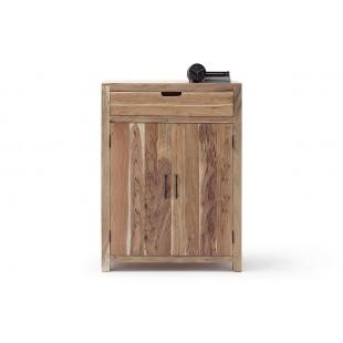 WILL komoda wysoka drewno akacjowe lakier natur 85/40/115  cm