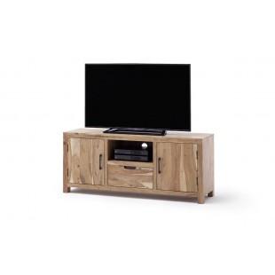 WILL szafka RTV mała drewno akacjowe lakier natur 145/40/60  cm