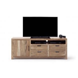 WILL szafka RTV duża drewno akacjowe lakier natur 175/40/60  cm