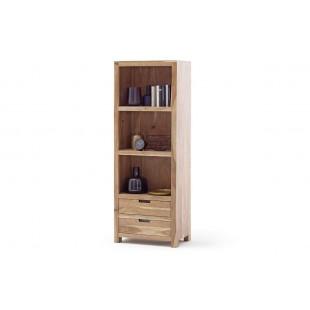WILL regał drewno akacjowe lakier natur 65/40/175  cm