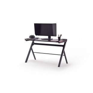 McRacing III biurko gamingowe oświetlenie LED 120/60/73 cm