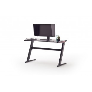 McRacing V biurko gamingowe oświetlenie LED 120/60/73 cm