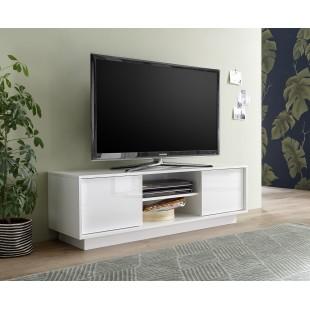 ICEBERG szafka RTV lakier biały  139/43/44 cm
