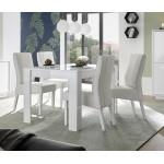ICEBERG stół lakier biały 180/90/79 cm