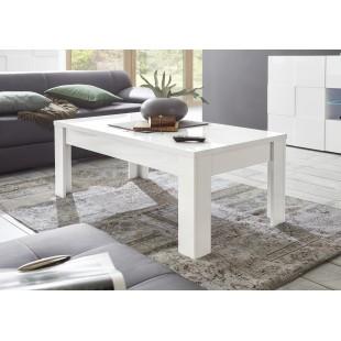 ICEBERG stolik kawowy lakier biały 122/65/45 cm