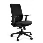 Seal Low fotel biurowy nowoczesny czarny