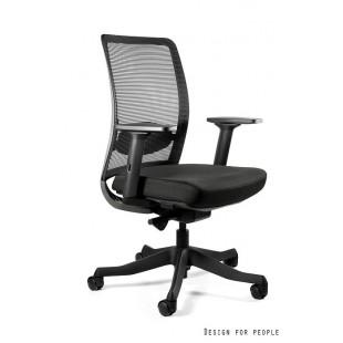 ANG M fotel biurowy nowoczesny czarny
