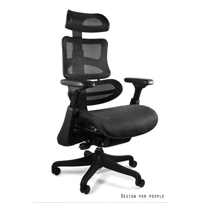 Fotel biurowy z podnóżkiem ERGO II