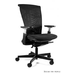 REJS  fotel biurowy nowoczesny czarny