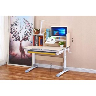ANNA biurko dziecięce regulowane 100/52-78,5/67 cm