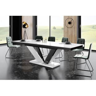 VIVAT 2 stół rozkł. różne kolory 160-208-256/89/75 cm