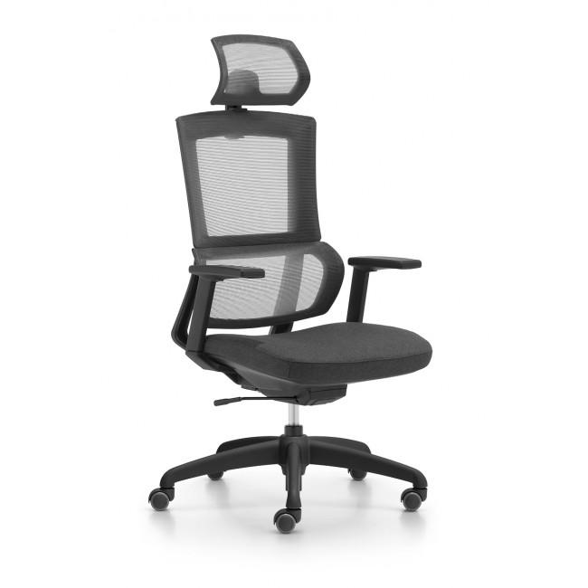 ELEGA fotel biurowy czarny