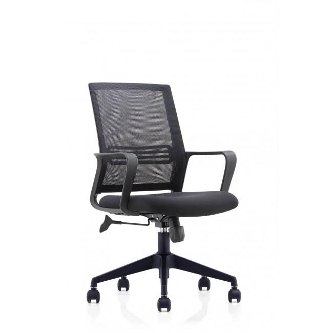 PLAZA fotel biurowy czarny
