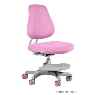 LILIA fotel dziecięcy różowy