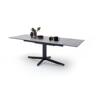 RIMMO stół rozkładany blat optyka betonu 160-200-240/90/76 cm