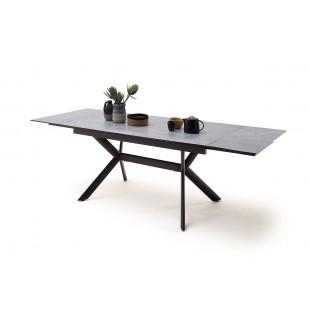 SIERRA stół rozkładany blat optyka betonu 160-200-240/90/76 cm