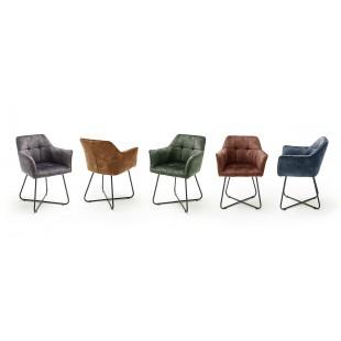 Krzesło VINTAGE welurowe