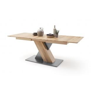 KUBANA I stół rozsuwany buk olejowany dwa rozmiary 140 lub 180 cm