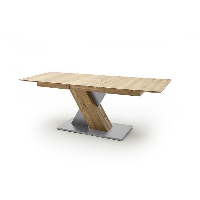 KUBANA I stół rozsuwany dąb olejowany dwa rozmiary 140 lub 180 cm