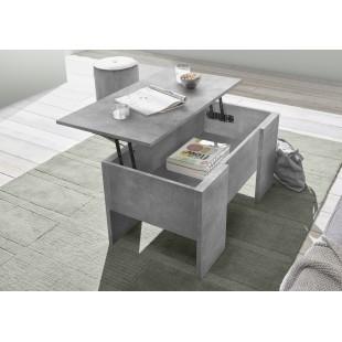 Stolik laminat beton podnoszony blat 92/50/47 cm