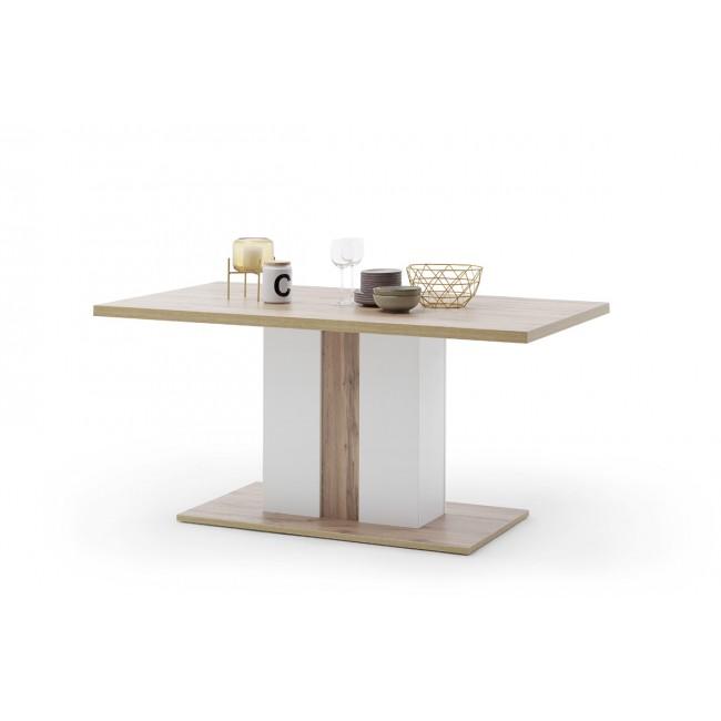 KALI stół dąb wotan 160/90/77 cm