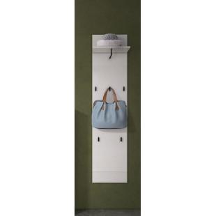 Panel garderobianyALADYNAbiały w połysku 40/16/170 cm