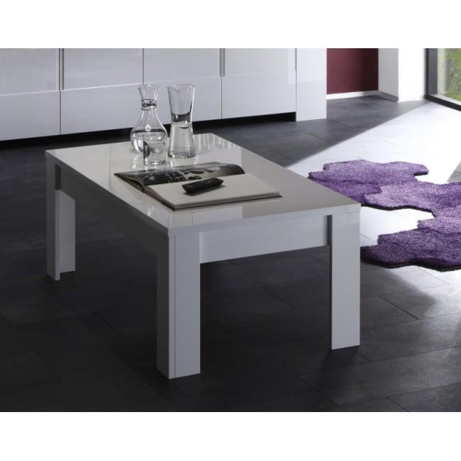 Biały stolik kawowy włoski Amelia 122/65/45cm
