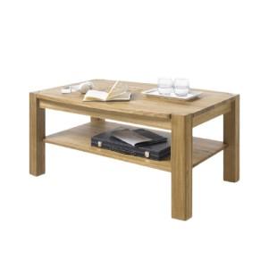 KLIPS drewniany stolik kawowy dąb lub buk 110/70/55 cm