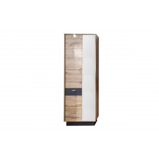 Szafa garderobiana z lustrem TOAST 69/35/191 cm