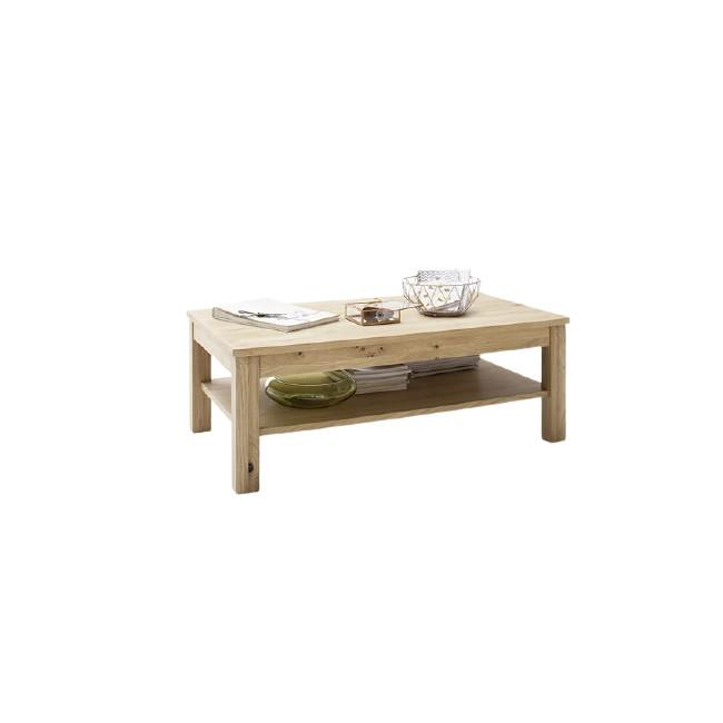Stolik kawowy SANTORINI dąb olejowany bianco 117/65/42 cm