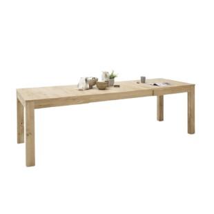 Stół rozkładany SANTORINI dąb olejowany bianco 160-260/90/79 cm