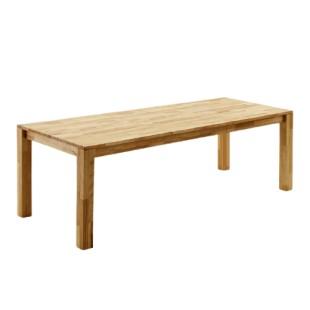 Stół drewniany rozkładany lity buk lub dąb PAWEŁ trzy rozmiary