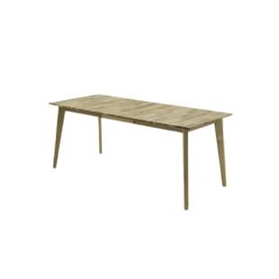 Stół drewniany lity buk lub dąb PAWEŁ 140/80 cm