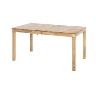 Stół rozkładany REGIO dąb lity dziki olejowany 140 lub 160 cm