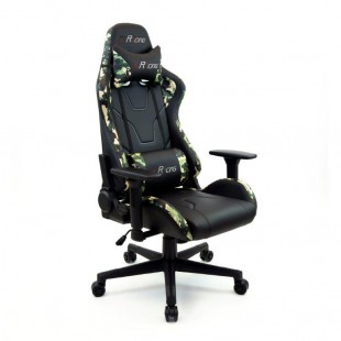 Fotel dla gracza MORO  ekoskóra czarna