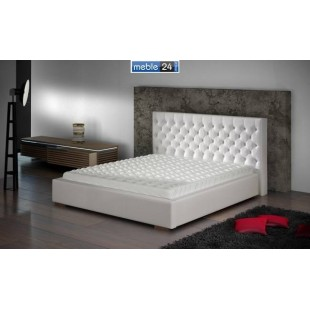 Białe łóżka ESTER - polibox