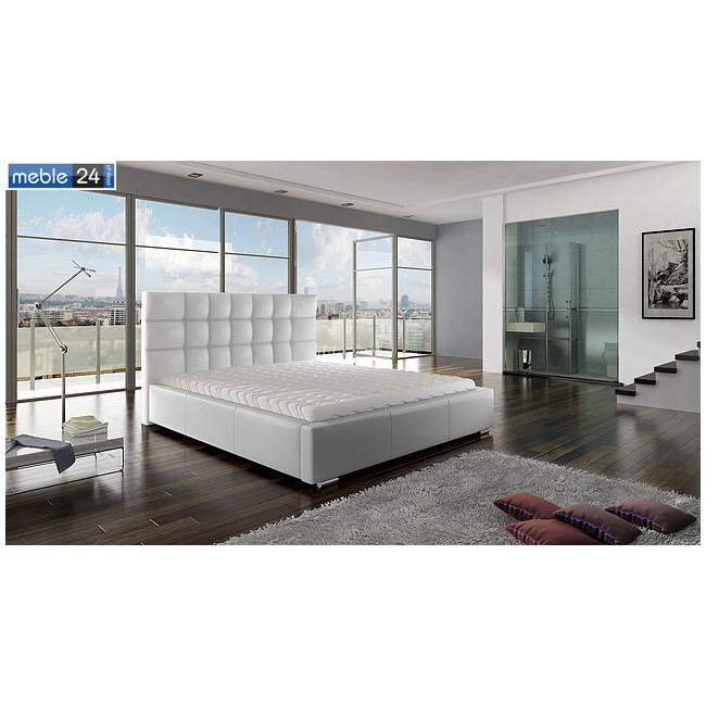 Łóżko LORES + pojemnik + materac