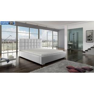 Łóżko z pojemnikiem i materacem LORES - polibox