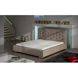 Łóżko nowoczesne SAWANNA - polibox