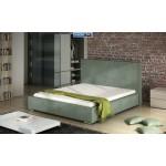 Nowoczesne łóżko tapicerowane KLASYK - POLIBOX