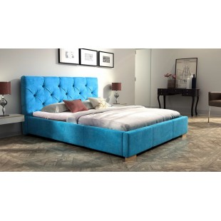 Nowoczesne łóżko ELEKTRO - polibox