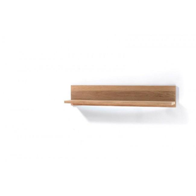 Panel ścienny z półką dąb sękaty DESPERODOS 124/23/27 cm