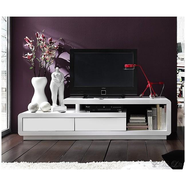 Szafka TV Biała LAZURIT II Model 4 170/45cm