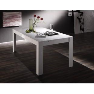 Stół włoski biały lakierowany/beżowy/miodowy