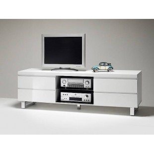 Szafka telewizyjna lakierowana biała BOS 1 167/42/63 cm